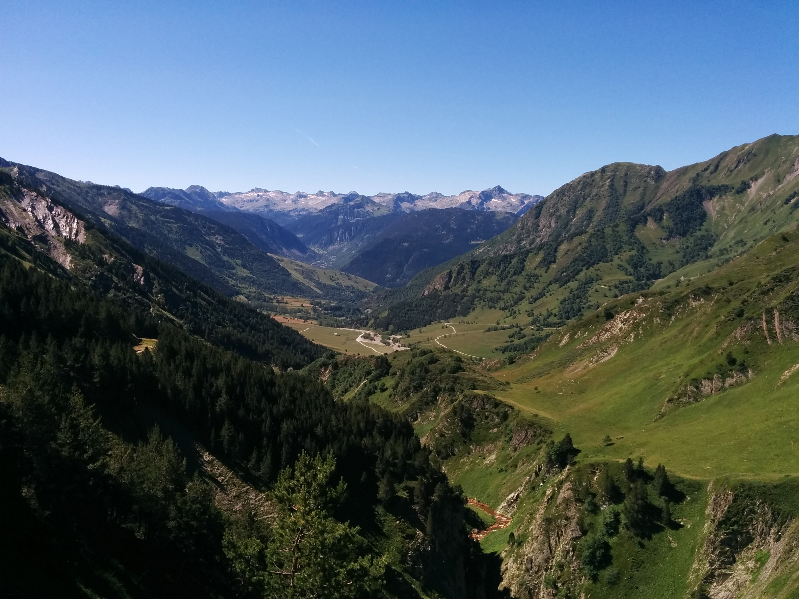 Vistas a la Ribera de Bagergue - Val d'Aran
