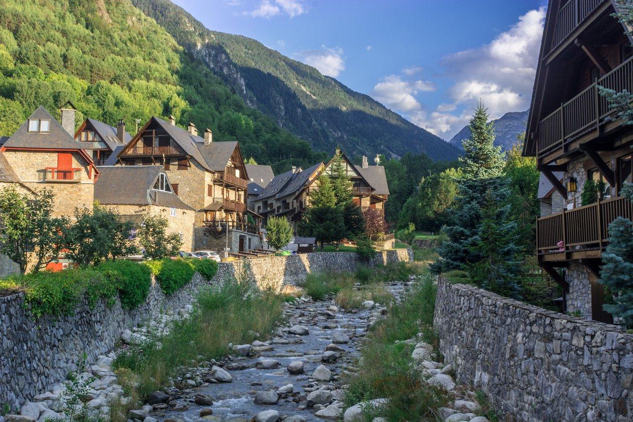 Río Garona (Vielha, Valle de Arán)