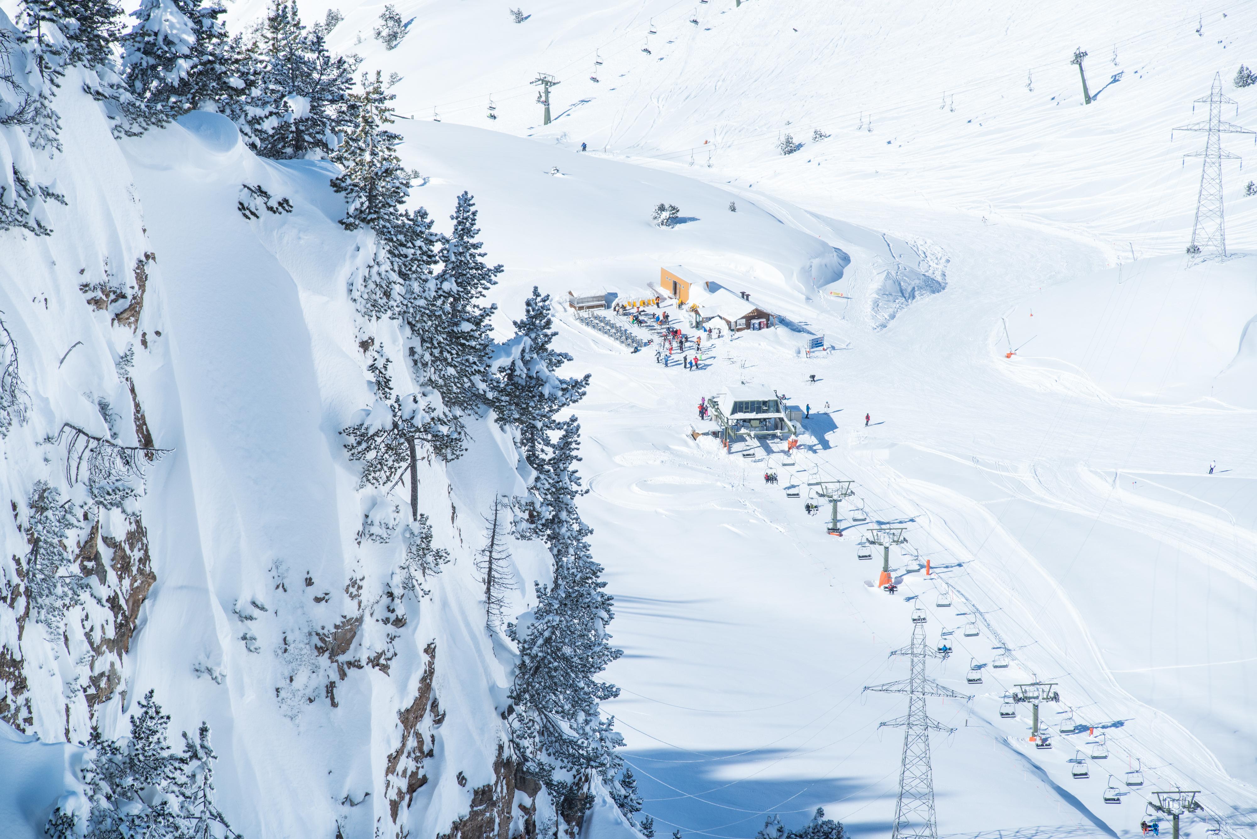 Marzo el mejor mes para disfrutar de las pistas de esquí de Baqueira