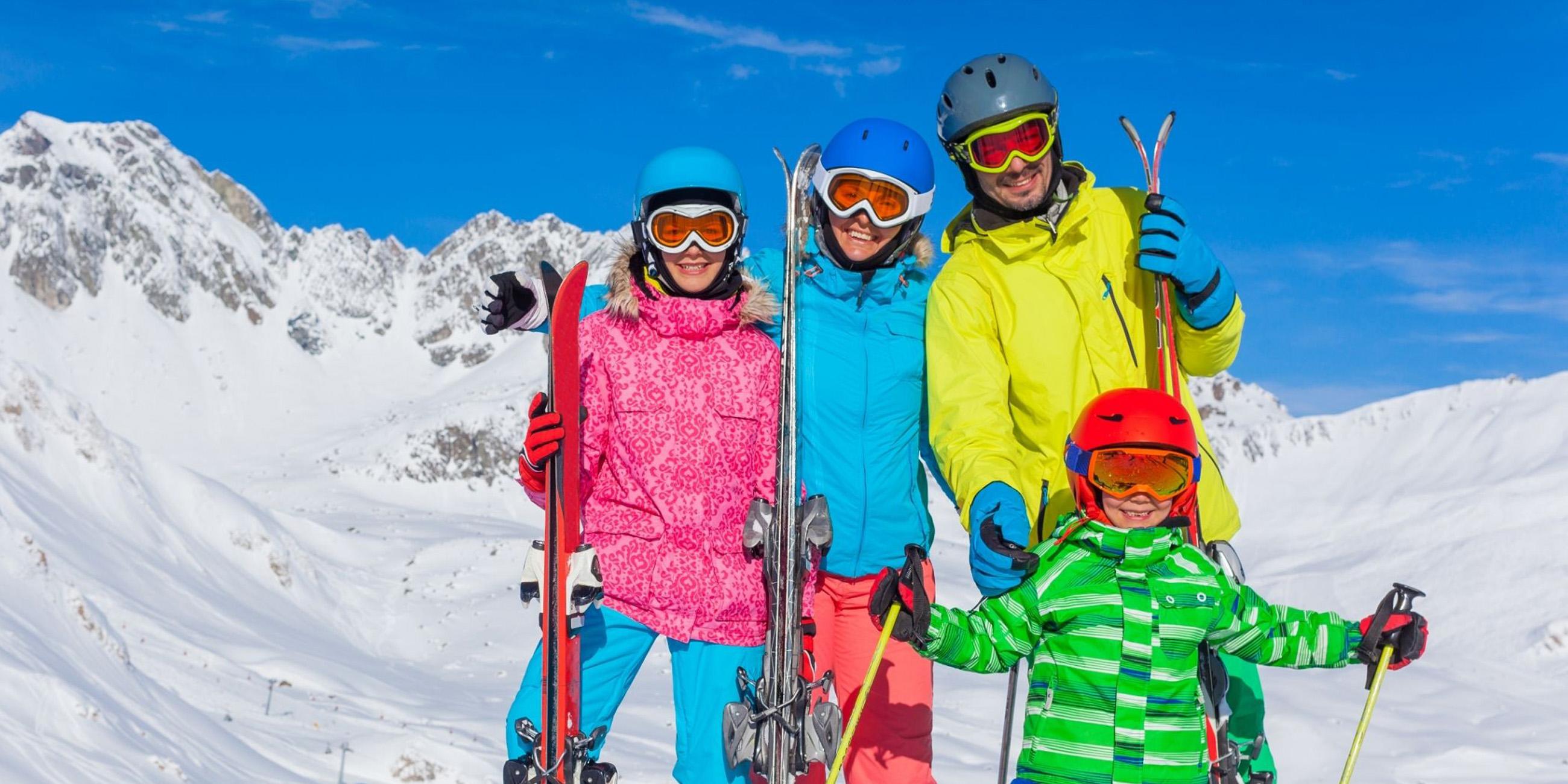 Esquiar con niños: Todo lo que tienes que saber
